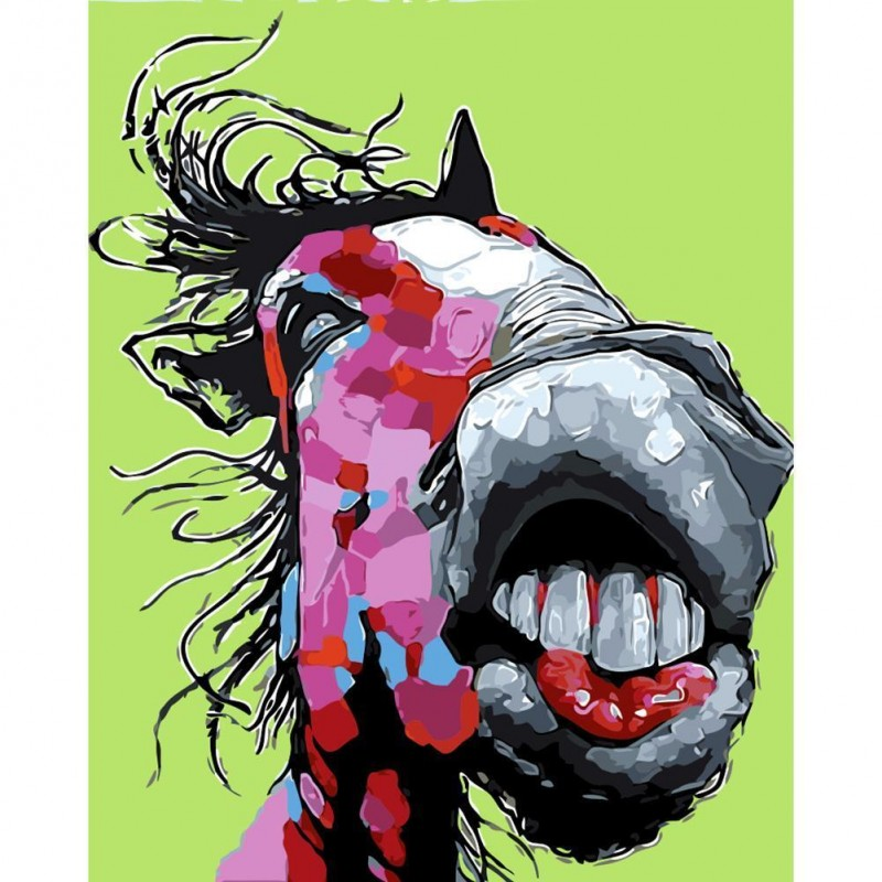 Abstract Horse - Ful...
