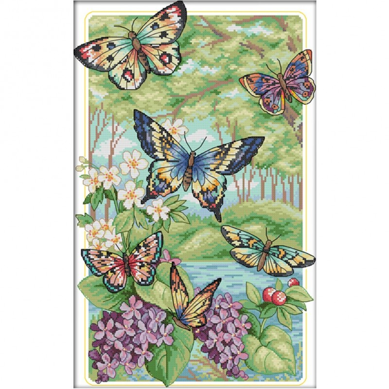 Butterfly Forest(47*32CM)...