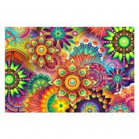 Colorful Flowers - Full R...