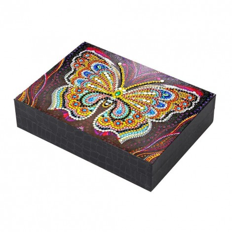 Special-shaped Diamond Painting DIY Butterfly Resin Jewelry Box Containers